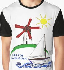 Sails of Land & Sea Graphic T-Shirt