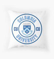 COLUMBIA UNIVERSITY  Throw Pillow