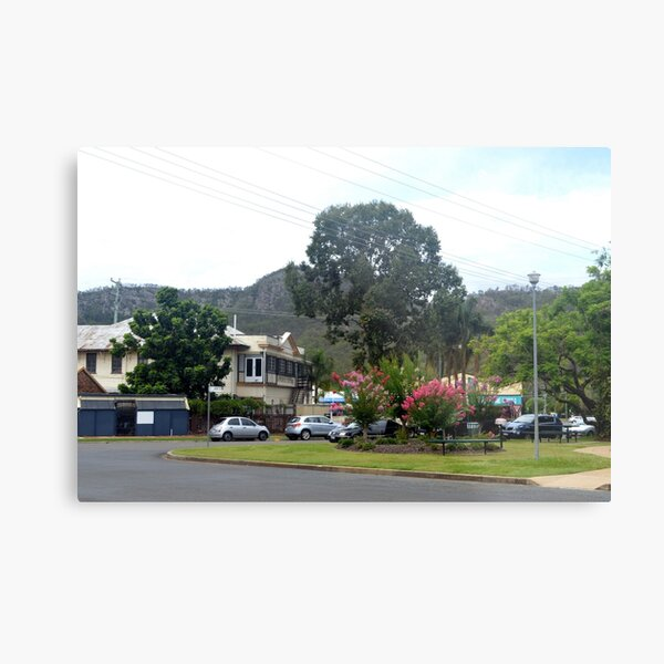 The small town of Esk, SE Qld Metal Print