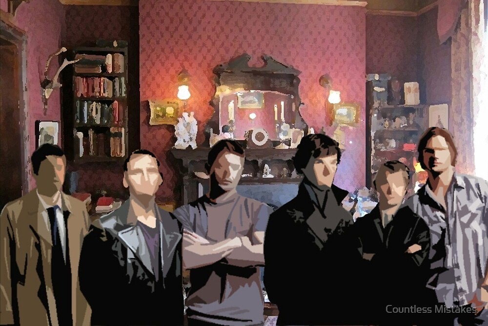 SuperWhoLock Team by SourCandySyd Shop