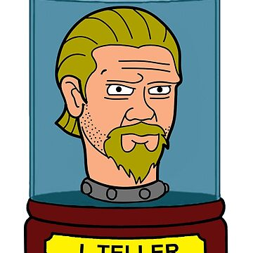 J Teller's Head In A Jar by TapedApe