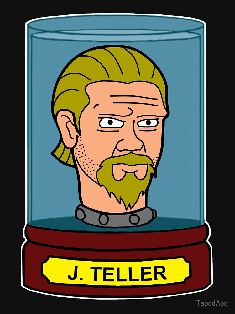J Teller's Head In A Jar by TapedApe