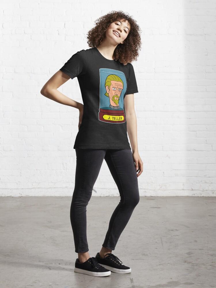 Alternate view of J Teller's Head In A Jar Essential T-Shirt