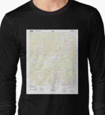USGS TOPO Map Florida FL New Harmony 20120629 TM Long Sleeve T-Shirt