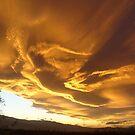 Desert Sky Sculture by BingoStar