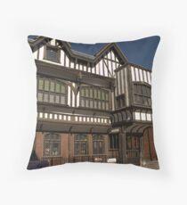 Tudor house Throw Pillow