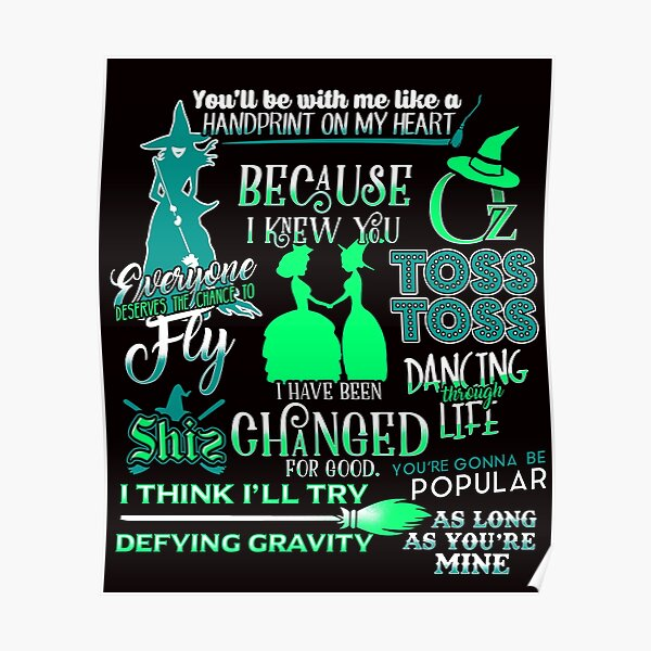 Theatre Quotes Posters Redbubble