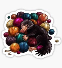 YARNIFFLER Sticker
