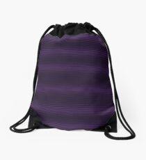 Dioxazine Purple Retro Half Tone Print Drawstring Bag