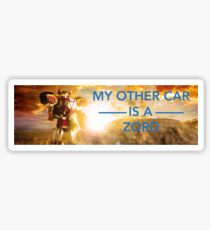 My Other Car is a Zord Sticker