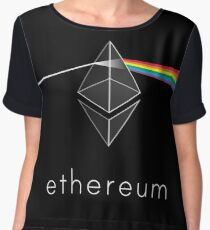 Ethereum Prism Chiffon Top