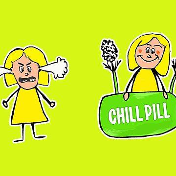 Chill Pill  by olgapanteleyeva