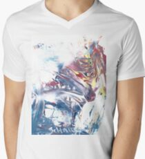 Wolf At The Window Men's V-Neck T-Shirt