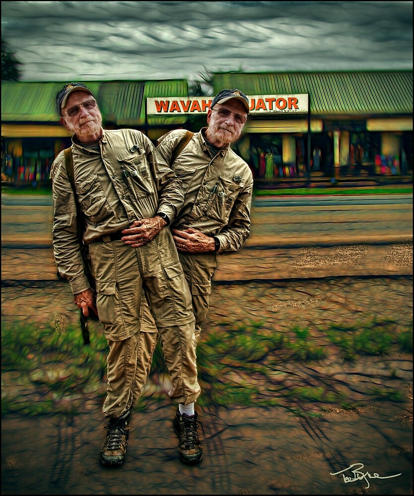 Uganda: Equator Wobble by Ted Byrne