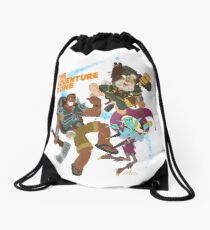 The Adventure Zone Drawstring Bag