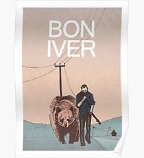 Bon Iver. Poster