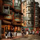 City - Boston MA - The North Square by Michael Savad