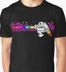 Jetpac Retro Game Print Graphic T-Shirt