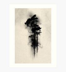 Zauberwald Kunstdruck