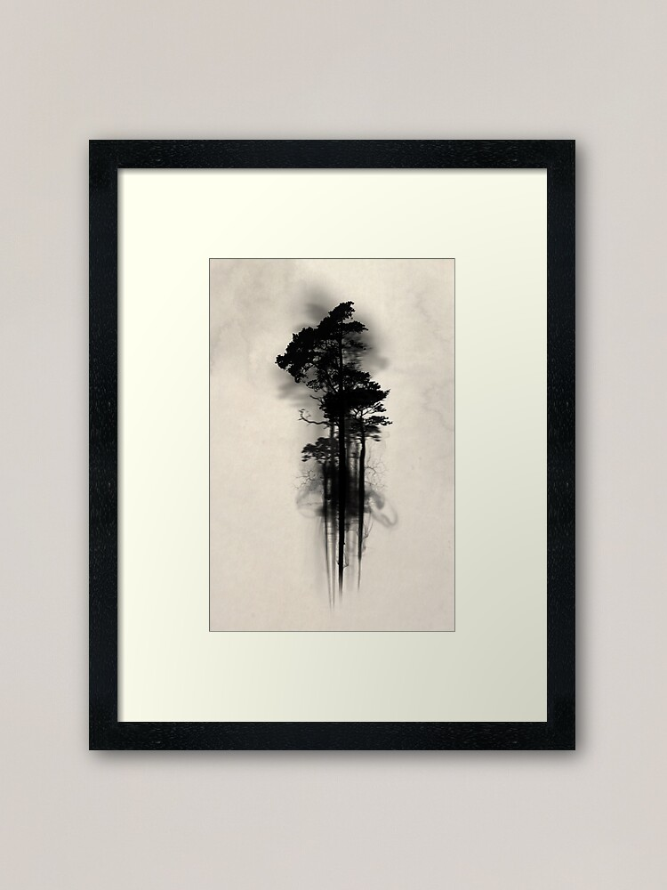 Alternate view of Enchanted Forest Framed Art Print