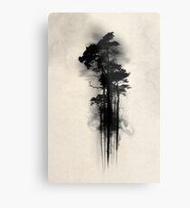 Forêt enchantée Impression métallique