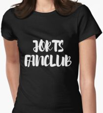 Jorts Fanclub T-Shirt Womens Fitted T-Shirt