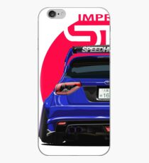 Speedhunters - BLUE Subaru Impreza WRX STI iPhone Case