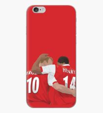 Thierry Henry & Dennis Bergkamp iPhone Case