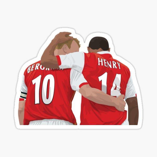 Thierry Henry & Dennis Bergkamp Sticker