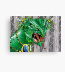 bull dragon Canvas Print