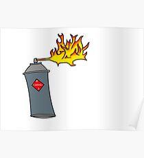 Flammable Liquid Poster