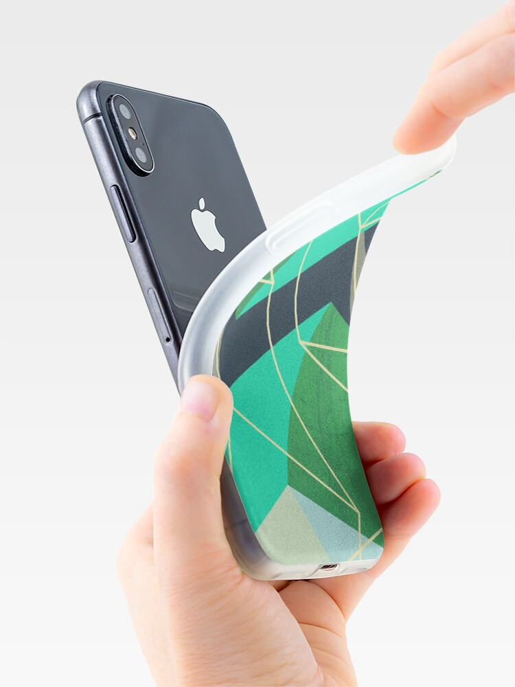 Alternate view of ColorBlock VI iPhone Case & Cover