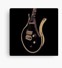 Prince Last Guitar Canvas Print