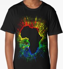African Continent,South African Flag Colours Long T-Shirt