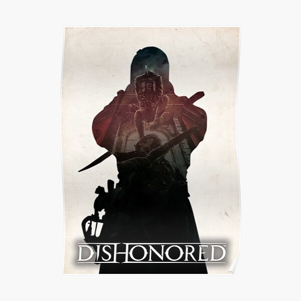 Dishonored - Drop Assassination Poster
