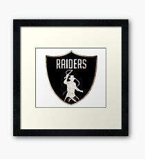 Raiders Framed Print