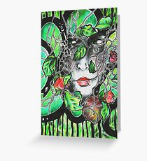 Life and Nature Intertwined Greeting Card