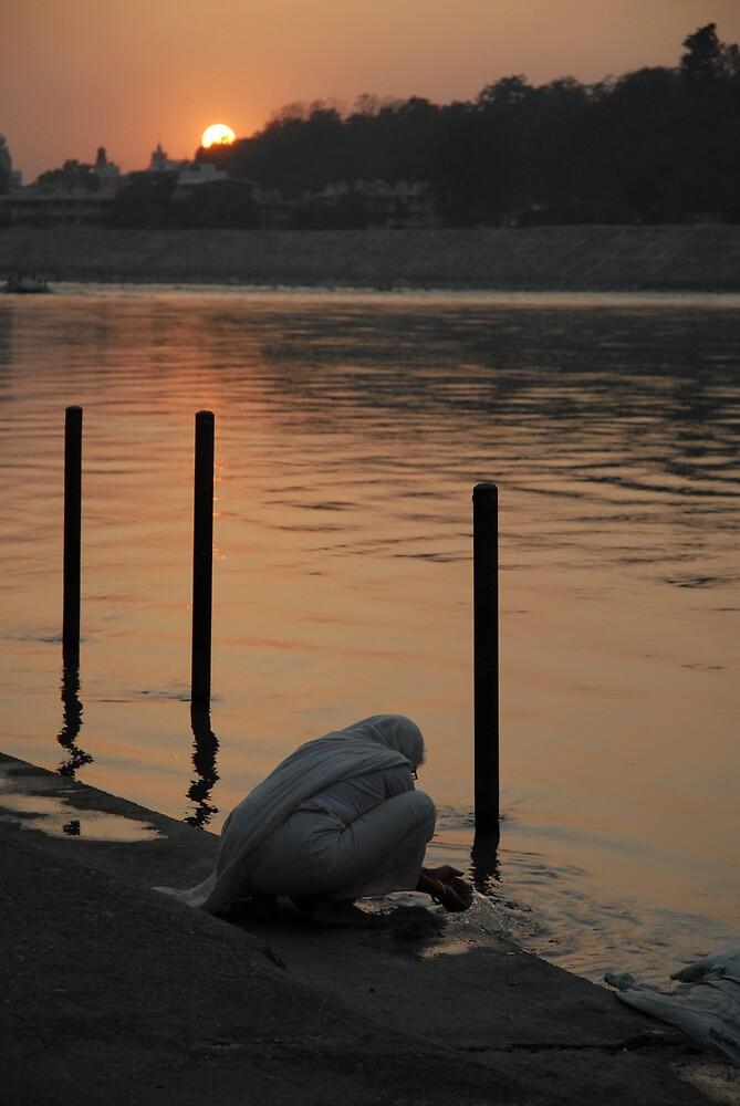 Ganga Offering by Shakti Hurst