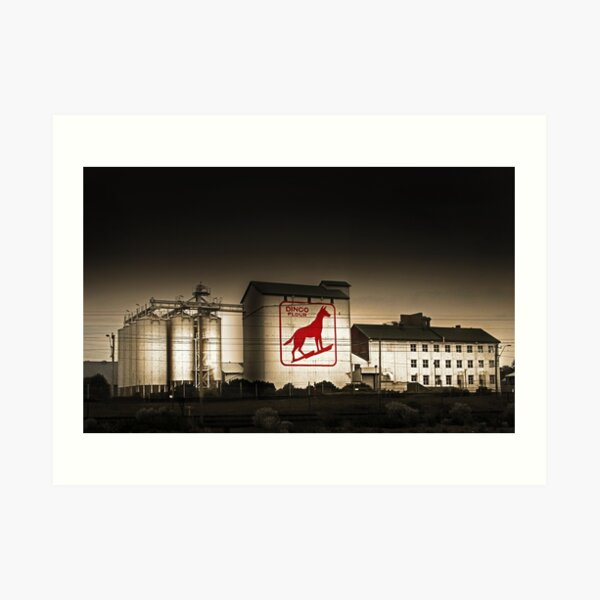 Dingo Flour Mill - Fremantle Western Australia  Art Print