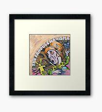Genesis Fanart The Famous Charisma Label by Frank Grabowski Framed Print
