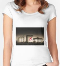 Dingo Flour Mill - Fremantle Western Australia  Women's Fitted Scoop T-Shirt