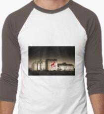 Dingo Flour Mill - Fremantle Western Australia  Men's Baseball ¾ T-Shirt