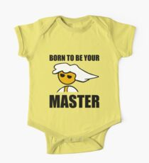 PC Master Race Born to Be Your Master Boy One Piece - Short Sleeve