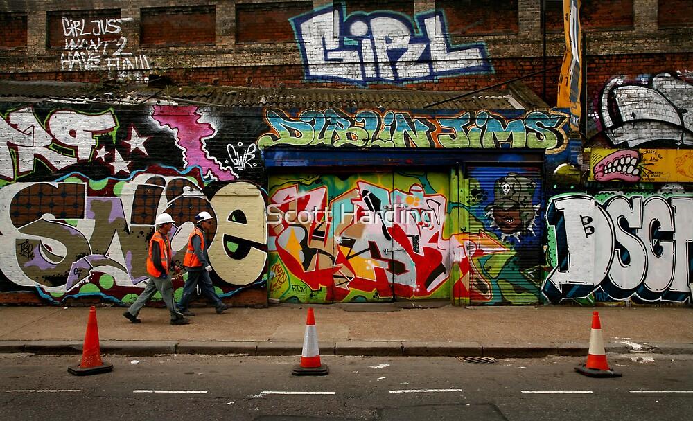 Wall Work by Scott Harding