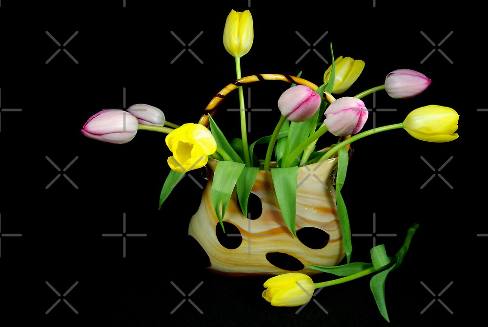 Posies In Purse by Maria Dryfhout