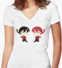 Ranma Saotome Women's Fitted V-Neck T-Shirt