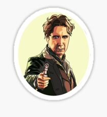 Eighth doctor Sticker