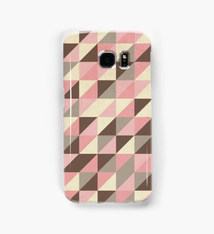Triangles [strawberry mousse] Samsung Galaxy Case/Skin