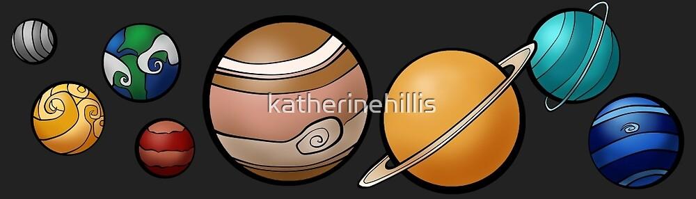 Solar System by katherinehillis