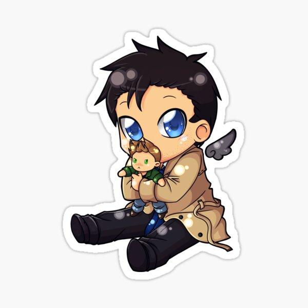 Baby Castiel - Supernatural Sticker